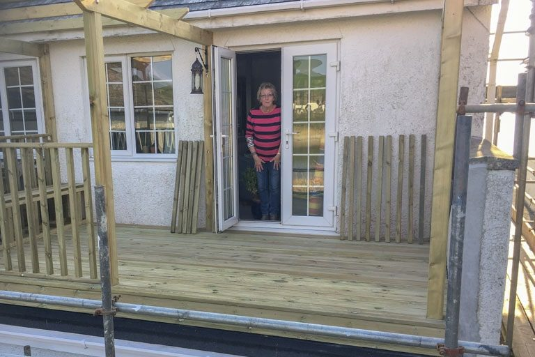Torquay Carpenter Treated timber decking